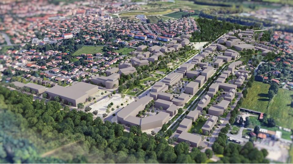image from L'écoquartier du Lauragais-Tolosan