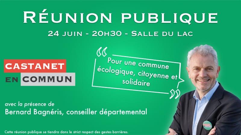 image from Réunion publique le mercredi 24 juin 2020 autour de Xavier Normand, tête de liste de Castanet en Commun