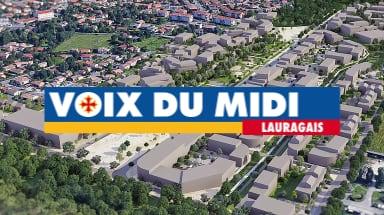 image from Article sur la ZAC dans Voix du Midi Lauragais